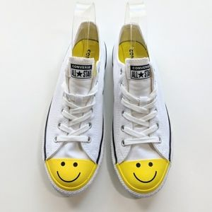 Converse Shoes | 2 For 85 Converse All Star Smiley Face Emoji ...